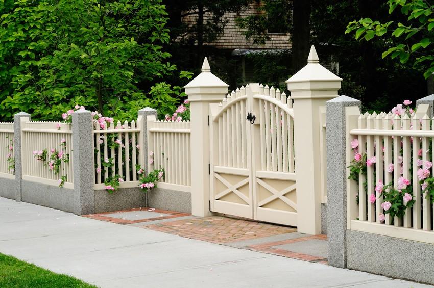 Elegante Zäune für Ihren Garten